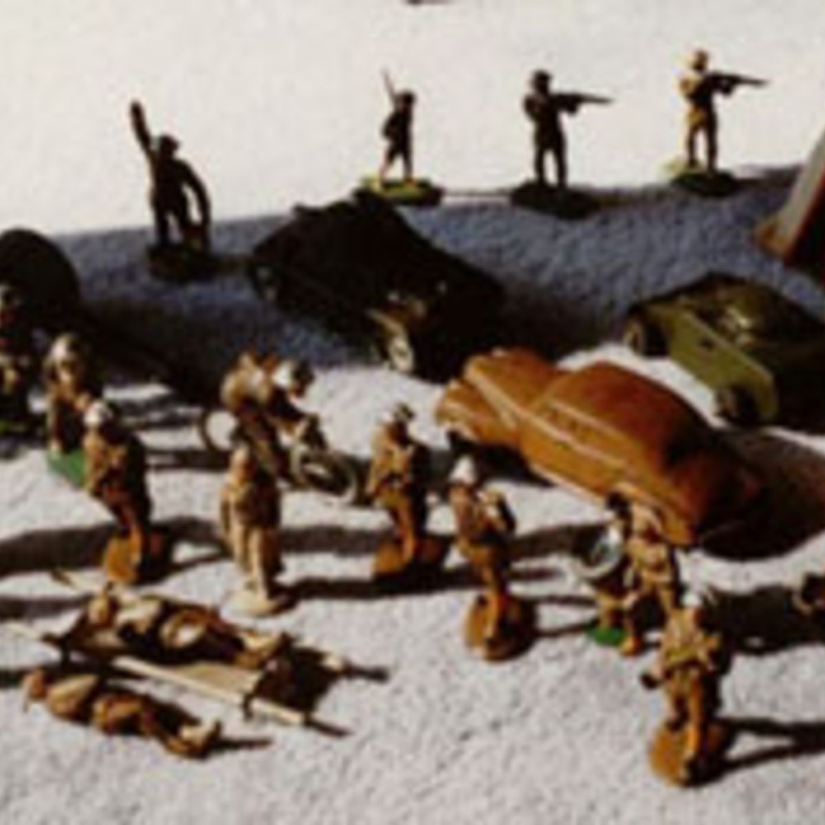 TOY SOLDIER GROUPING.
